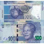 Banknoten Sammlung Südafrika Pick Nummer 136 - 100 Rand 2013