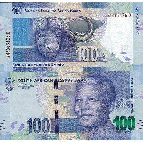 Billets de collection Billets de banque Afrique Du Sud Pk n° 136 - 100 Rands - Nelson Mandela Billets d'Afrique du Sud 28,00 €