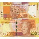 Beautiful banknote South Africa Pick number 137 - 200 Rand 2013