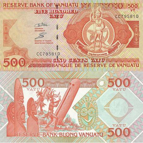 Billets de collection Billets de banque Vanuatu Pk n° 5 - 500 Vatus Billets du Vanuatu 19,00 €