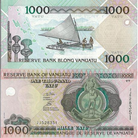 Vanuatu- Pk n° 999- Billet de 1000 Vatus