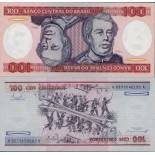 Banknote collection Brazil Pick number 198 - 100 Cruzeiro 1981