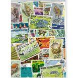 Sammlung gestempelter Briefmarken Kenia /Ouganda