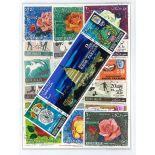 Colección de sellos Khor Fakkan usados
