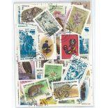 Sammlung gestempelter Briefmarken Kirgisistan