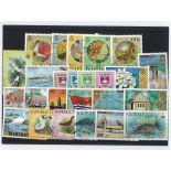 Sammlung Von Briefmarken gestempelt Kiribati