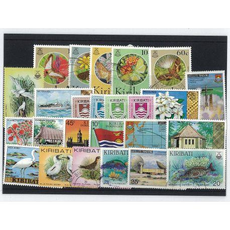Kiribati - 25 timbres différents
