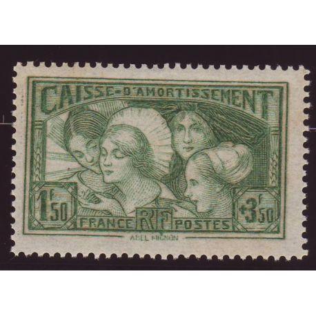 France N° 269 - Au profit de la caisse d amortissement - TB - **