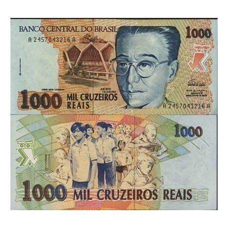 Billets de collection Billets de banque BRESIL Pk N° 240 - 1000 Cruzados Billets du Bresil 8,00 €