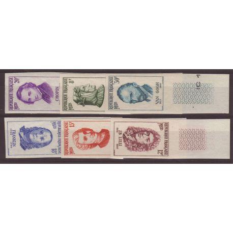 Timbres France Série N° 1082/1087 - non dentelé neuf sans charnière