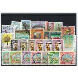 Sammlung gestempelter Briefmarken Kuwait