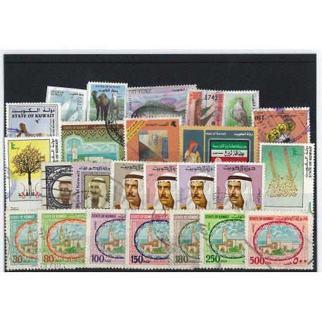 Kuwait - 10 verschiedene Briefmarken