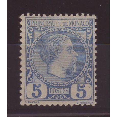 Monaco - N° 3 - Neuf avec charnière