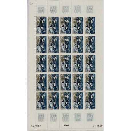 TAAF N° 30 en feuilles de 25 exemplaires - Luxe
