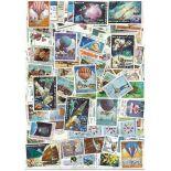 Sammlung gestempelter Briefmarken Laos