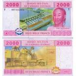 Banknote Congo Pick number 108 - 2000 FRANC 2002