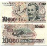 Billet de banque Bresil Pk N° 233 - 10000 Cruzados