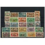 Lattaquie-Sammlung gestempelter Briefmarken