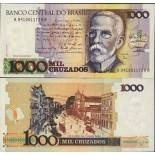 Billets banque Bresil Pk N° 213 - 1000 Cruzados