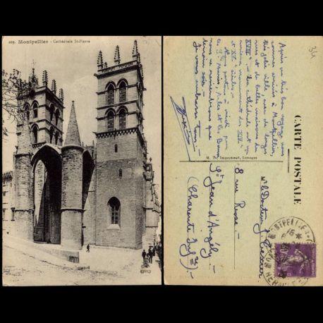 34 - Montpellier - Cathédrale St Pierre