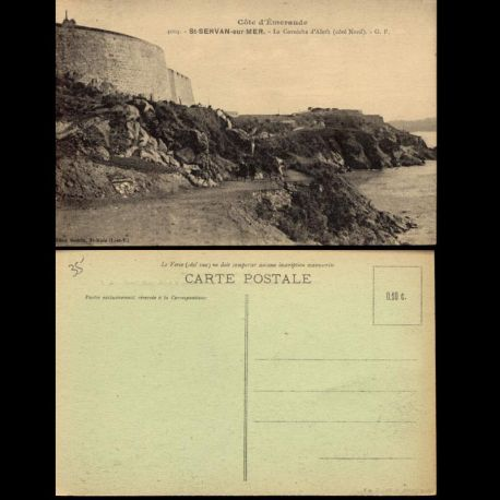 35 - Saint-Servan sur Mer - La corniche d'Aleth