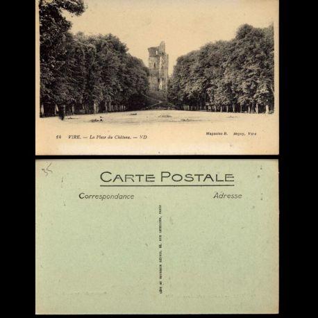 35 - Vire - La place du Chateau