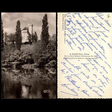 Carte postale 36 - Tournon Saint Martin - Le chateau du Soudun