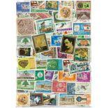 Sammlung gestempelter Briefmarken Libanon