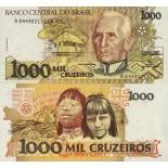 Billets de banque Bresil Pk N° 231 - 1000 Cruzados
