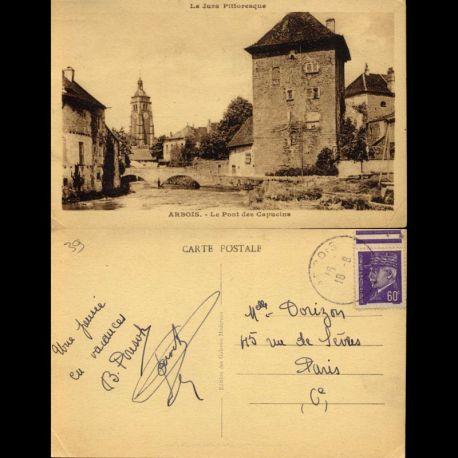 Carte postale 39 - Arbois - Le pont des Capucins