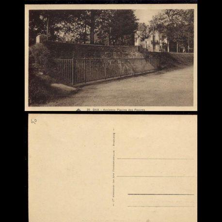 Carte postale 40 - Dax - Ancienne piscine des pauvres