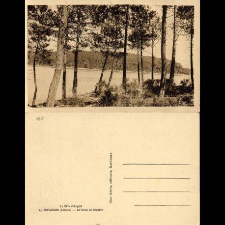 Carte postale 40 - Hossegor - La dune de Branere
