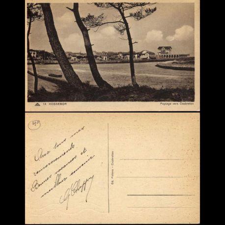 Carte postale 40 - Hossegor - Paysage vers Capbreton