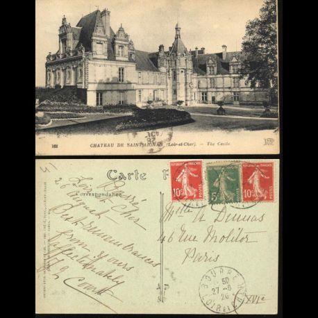 Carte postale 41 - Chateau de Saint Aignan