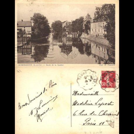 Carte postale 41 - Romorantin - Bords de la Sauldre