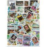 Sammlung gestempelter Briefmarken Liberia