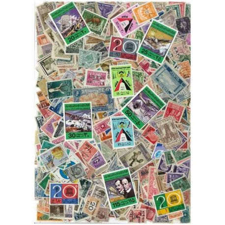 Collection de timbres Libye oblitérés