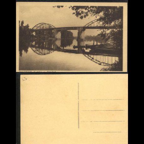 Carte postale 47 - Sainte Livrade - Pont Neuf