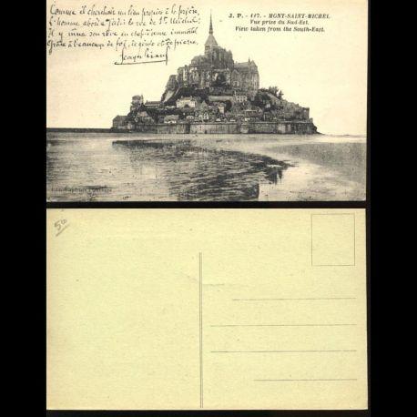 50 - Mont Saint Michel - Vue prise du Sud est