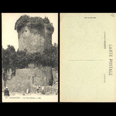 50 - avranches - Le vieux Donjon