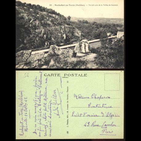 56 - Rochefort en terre - Un joli coin de la vallée de Gueuzon