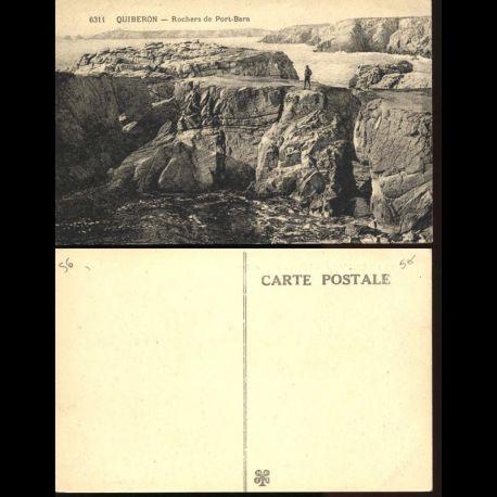 56 - Quiberon - Rochers de Port Bara
