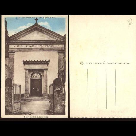56 - Sainte Anne d'Auray - Entrée de la chartreuse