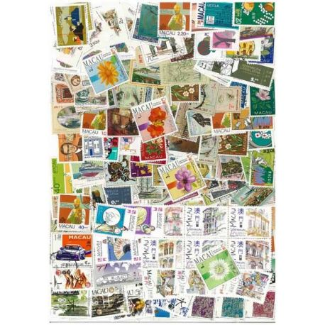 Macao - 25 timbres différents