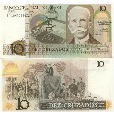 Billet de collection Bresil Pk N° 209 - 10 Cruzado