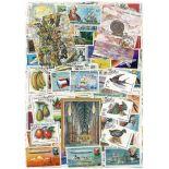 Sammlung gestempelter Briefmarken Madagaskar