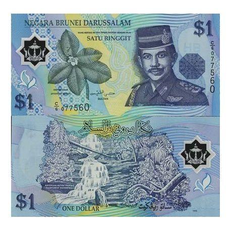 Brunei - Pk N° 22 - Billet de 1 Ringgit