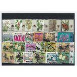 Colección de sellos Malaca usados
