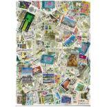 Sammlung gestempelter Briefmarken Malaysia Singapur