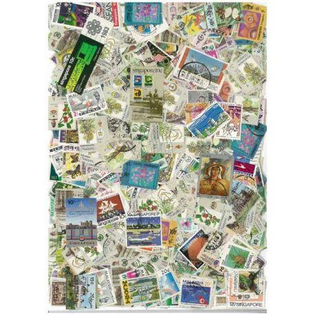 Malaysia - 100 verschiedene Briefmarken